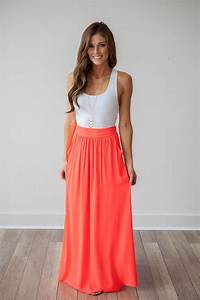 8 business casual work outfits with a coral skirt - Page 8 of 8 - business-casualforwomen.com