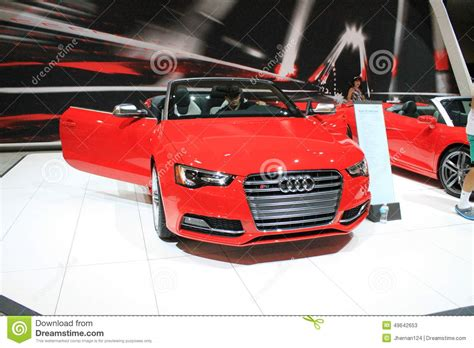 Audi S5 And S5 Cabriolet 2014 Editorial Photo