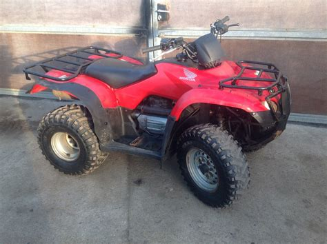 Honda Quad Trx 250 Fourtrax Atv Big Red