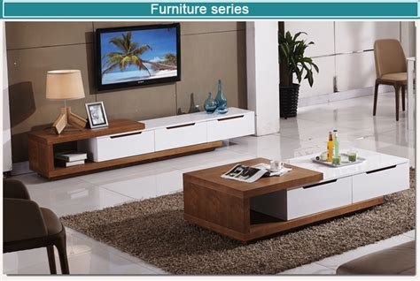 Drawing room lcd panel design archplanest living roomtv stands & cabinets | homify. Living Room Furniture Wooden Lcd Led Tv Stand Design - Buy ...