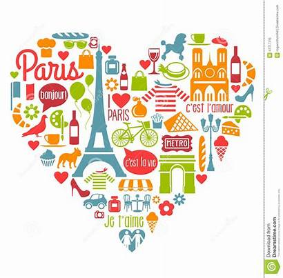 French Clipart Icons France Paris Francia Landmarks