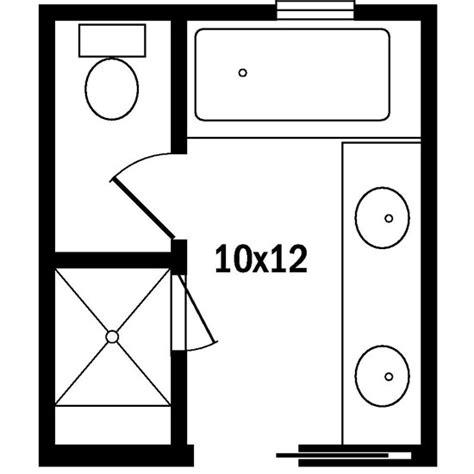 Bathroom Design Floor Plans by Master Bath Floor Plans