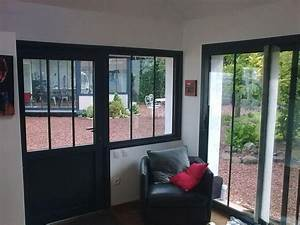 1000 idees sur le theme porte garage coulissante sur pinterest With porte de garage coulissante avec portes fenetres pvc