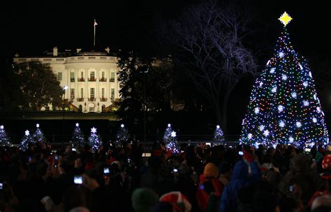 national christmas tree lighting ceremony held on dc s