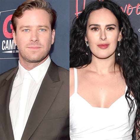 Armie Hammer Enjoys a Day Out With Rumer Willis Almost ...