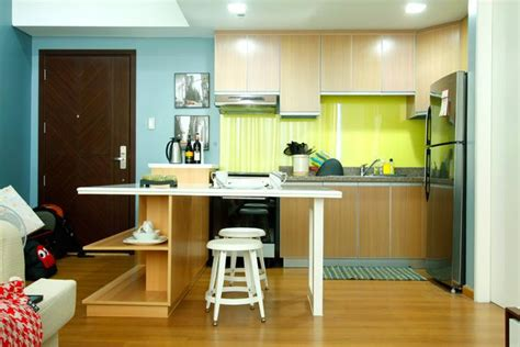 green kitchen backsplash york inspired design for a 50sqm one bedroom condo rl