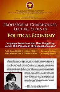 PUP Professorial Chairholder Lecture Series in Political ...