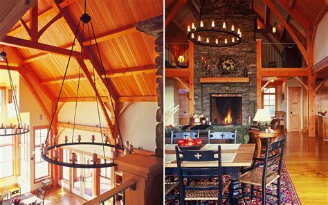 mountain home interiors interiors timber frame mountain home truexcullins architecture interior design