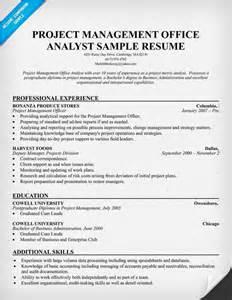 Pmo Analyst Resume Resumecompanion Com Resume Samples