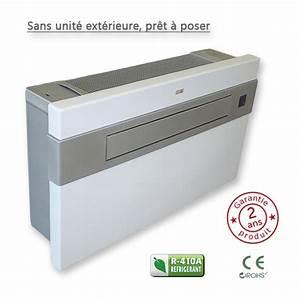 Climatisation Sans Unité Extérieure : climatiseur monobloc fixe ~ Premium-room.com Idées de Décoration