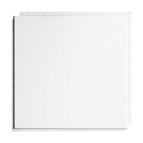 shop armstrong ceilings common 12 in x 12 in actual 11 985 in x 11 985 in washable white 10