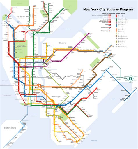 metro map of follow up letters new york city wikitravel 41913
