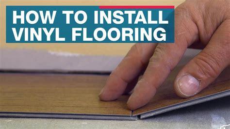 install vinyl plank flooring youtube