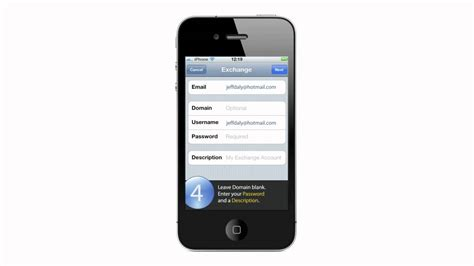 hotmail on iphone how to setup hotmail with exchange activesync on your