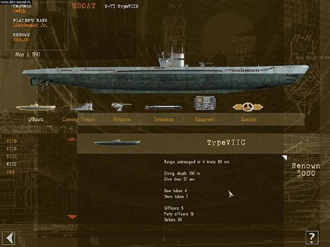 U Boat Game by U Boat Battle In The Mediterranean Screenshots Gallery