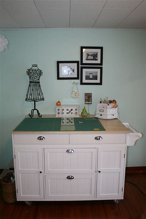 room and board kitchen island best 25 sewing cutting tables ideas on 7804