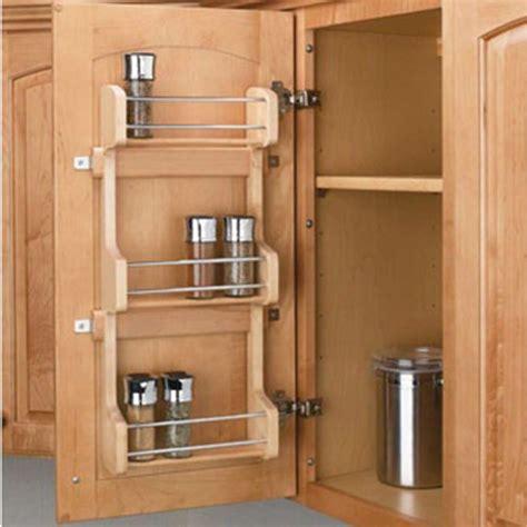 door mount spice racks rev  shelf sr series
