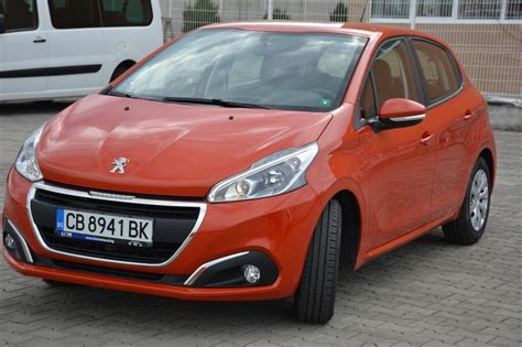 Peugeot 208 For Rent