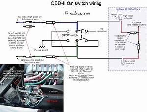 Problem With Manual Fan Switch - Throwing 2 Codes