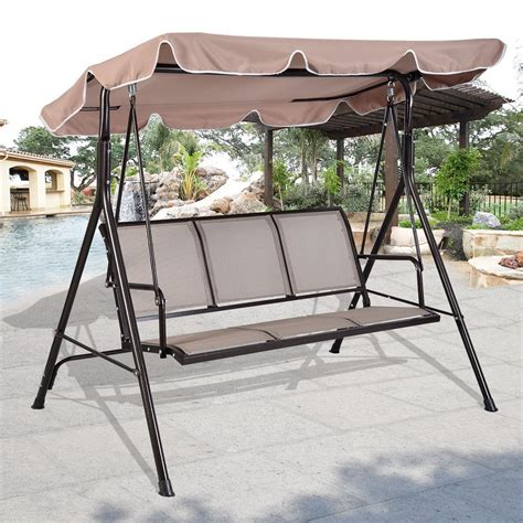 canapé swing the 16 best 3 person canopy swings available on amazon