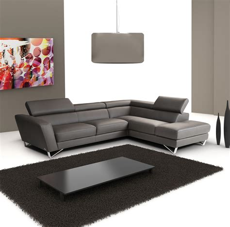 modern leather sectional sparta italian leather modern sectional sofa