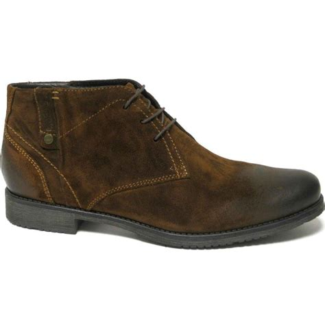 Get great deals on ebay! Bugatti Romano Mens Desert Boots: Lace Up: Charles Clinkard