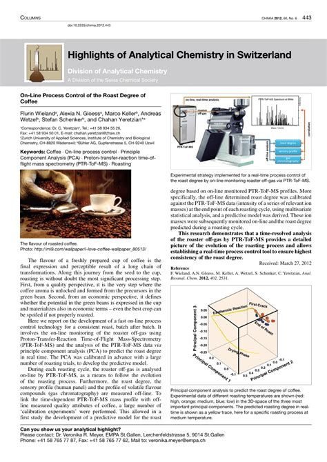 The middle ground—i.e., your drip brewer—produces mediocrity. (PDF) On-Line Process Control of the Roast Degree of Coffee