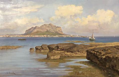 mirabella mario   paesaggio siciliano catawiki