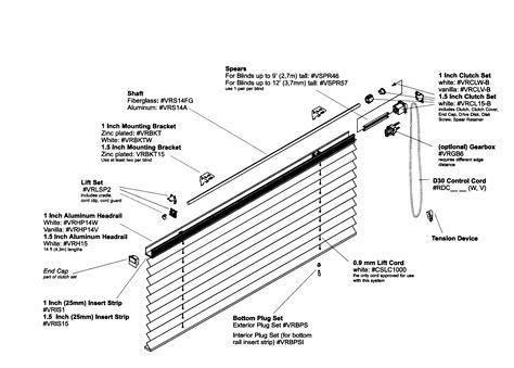bali horizontal blinds parts blind repair parts rollease shade parts
