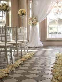 ceremony wedding indoor ceremony decorations archives weddings romantique