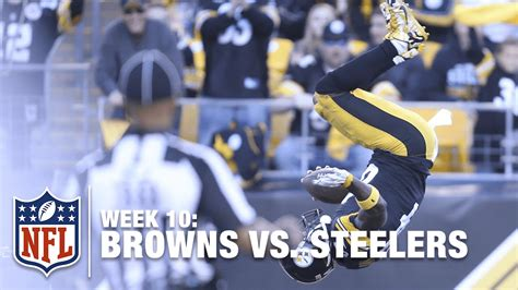 Antonio Brown's Amazing Front-Flip After a 56-Yard TD ...