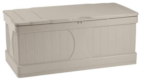 Suncast Large Deck Box Assembly by Save 64 88 Suncast Db9000 Deck Box 99 Gallon