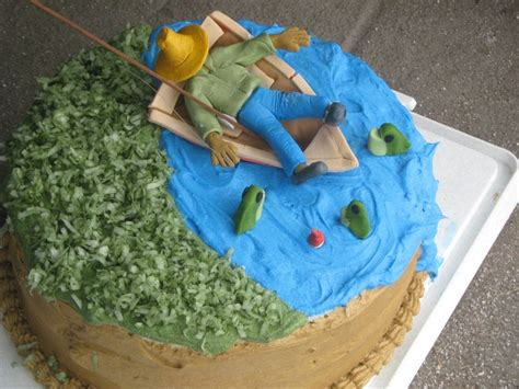 Man In Fishing Boat Cake Topper by Quot Man Fishing Quot Cake Topper Google Search Hunting And