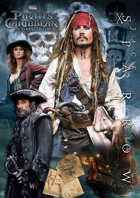 Disney Poster Puzzle  Jack Sparrow Jigsaw Puzzle