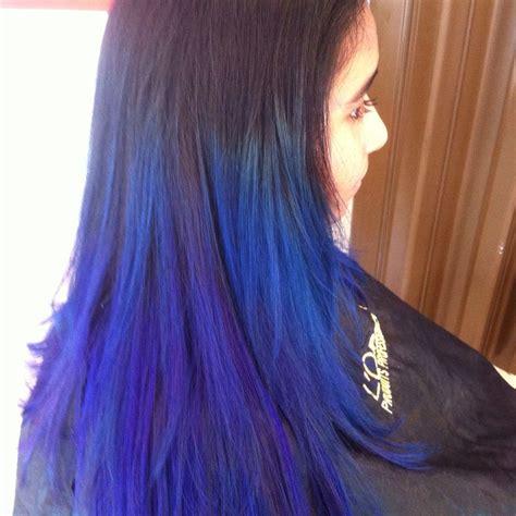 color de cabello negro con puntas azules color de cabello negro con puntas azules las 25 mejores