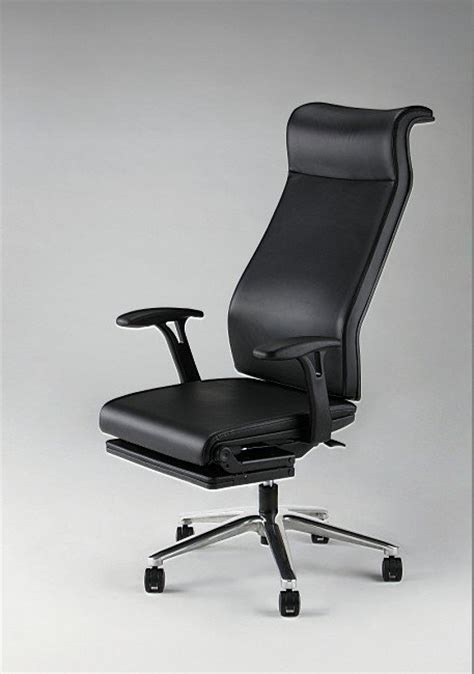 tired at work new japanese office chair lets you doze