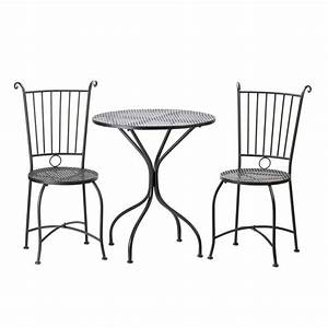 Metal patio table and chairs set marceladickcom for Metal patio table and chairs