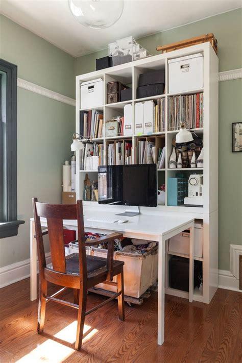 bureau expedit bureau kallax ikea kallax desk combination white chrome