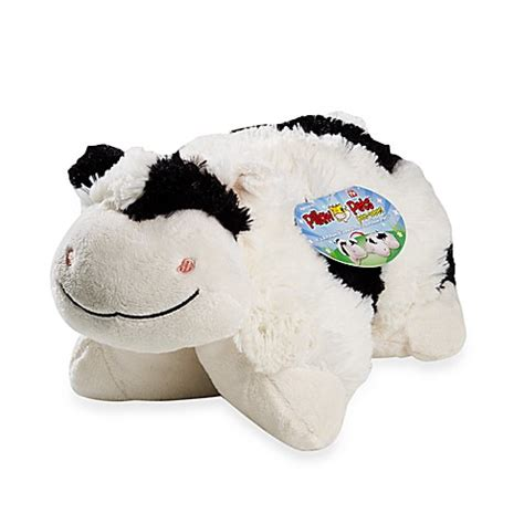 pillow pets wee buy pillow pets wee in cow from bed bath beyond