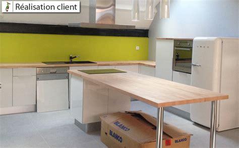 plans de cuisine ouverte aménager sa cuisine ouverte sur mesure le du bois