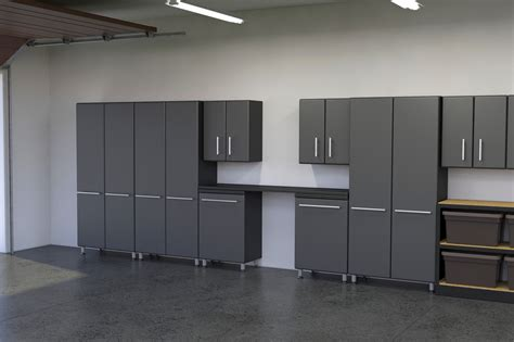 installing kitchen cabinets in garage diy garage cabinets to make your garage look cooler elly
