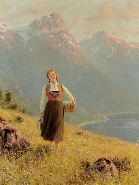 Norwegian Painter Hans Dahl 1849 1937 ~ Blog Of An Art