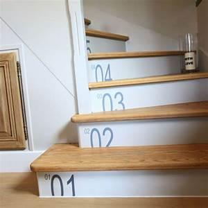 relooker un escalier avec un petit budget deconome With peindre les contremarches d un escalier en bois 5 escalier en bois moderne avec contremarches photo 710