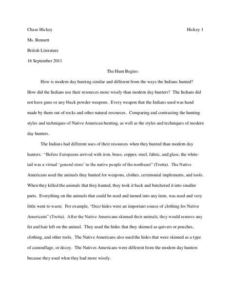 senior project rough draft