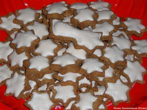 spécialité allemande cuisine zimtsterne recette autrichienne biscuits de noël à la cannelle