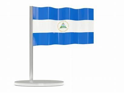Flag Luxembourg Nicaragua 3d National Waving Graphics