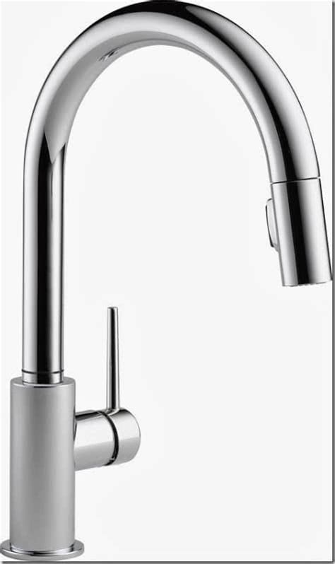 trinsic kitchen faucet with touch2o technology delta