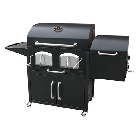 home depot garage landmann 591320 bravo premium charcoal grill with
