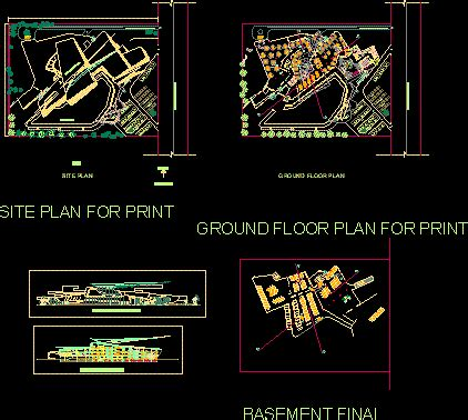car museum dwg plan  autocad designs cad
