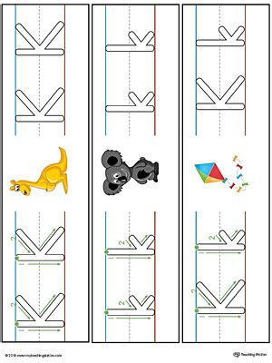 kindergarten letters printable worksheets